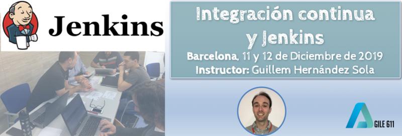 Curso presencial de Jenkins en Barcelona